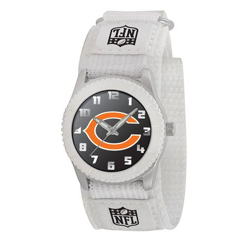 NFL CHICAGO BEARS ROOKIE WHITE Sports watch