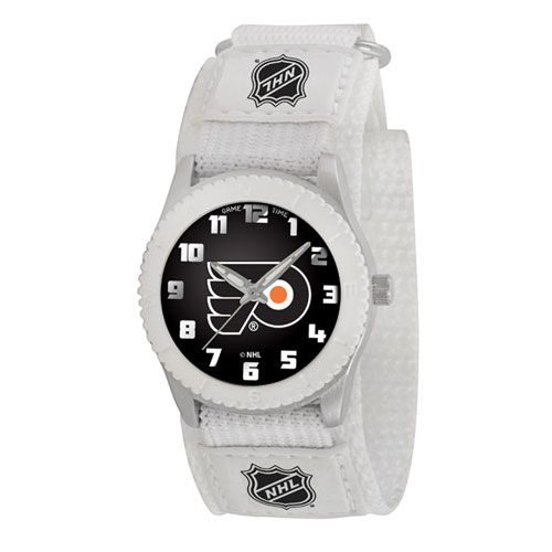 NHL PHILADELPHIA FLYERS ROOKIE WHITE SPORTS WATCH