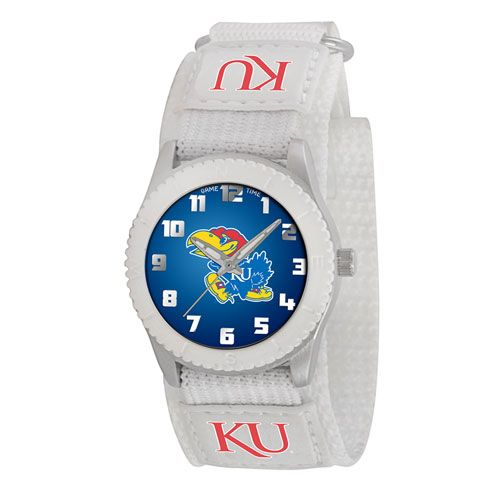 COLLEGE KANSAS ROOKIE WHITE SPORTS WATCH