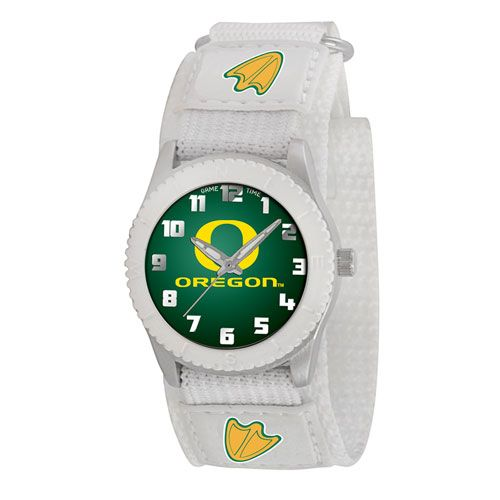 COLLEGE OREGON ROOKIE WHITE SPORTS WATCH