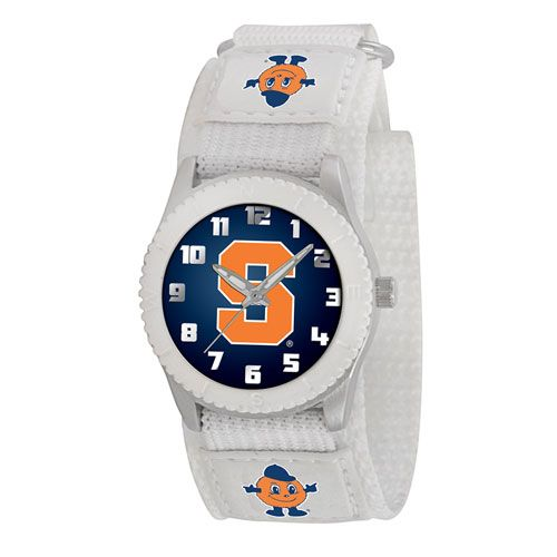 COLLEGE SYRACUSE ROOKIE WHITE SPORTS WATCH