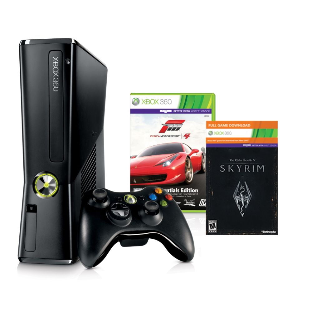 Microsoft Xbox 360S 250GB Console Holiday Bundle