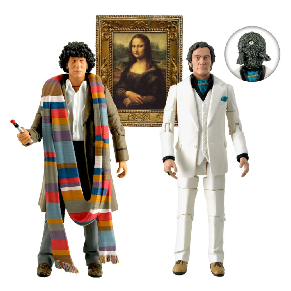 Doctor Who City of Death 5-Inch Action Figure Set Multi-color