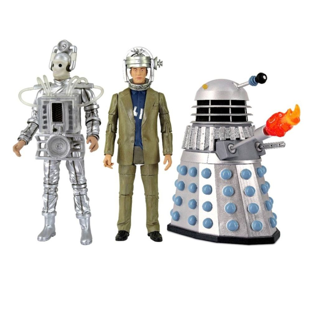 Doctor Who Enemies of the First Doctor 5-Inch Action Figure Set Multi-color