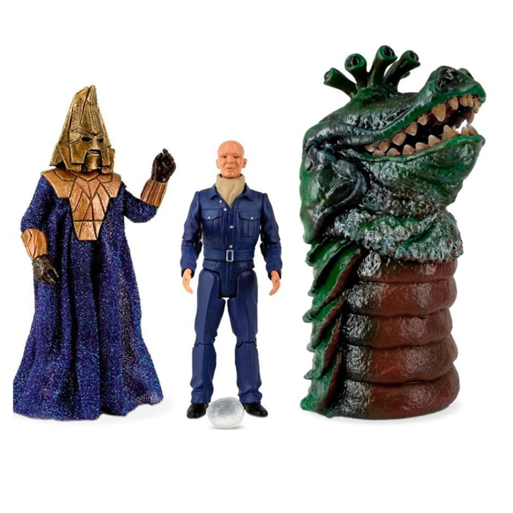 Doctor Who Enemies of the Third Doctor 5-Inch Action Figure Set Multi-color