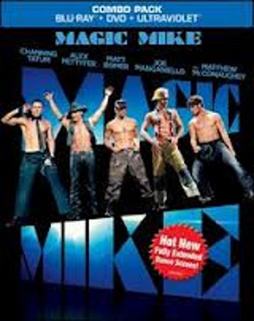 Warner Home Video Magic Mike Blu-ray DVD UltraViolet Digital Copy Combo Pack