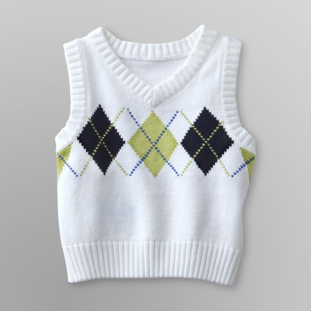 Holiday Editions Infant & Toddler Boy's Sweater                            Vest - Argyle