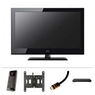 The 32'' LED HDTV Television Home Theater System Ultim...