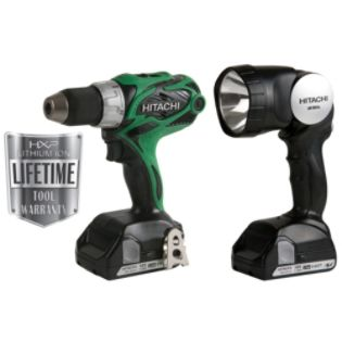 Hitachi  18 V 1/2 In. Lithium-Ion Compact Pro Drill