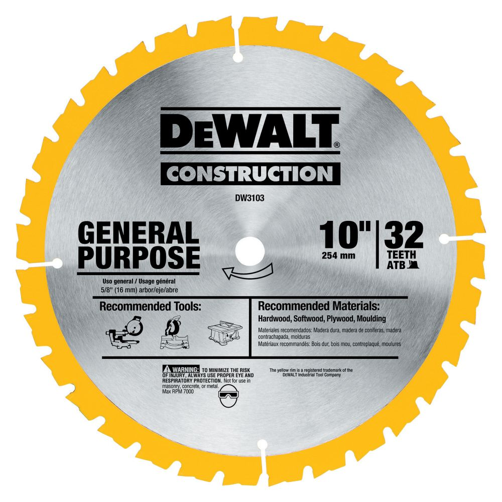 10 In. 40T General Purpose Blade