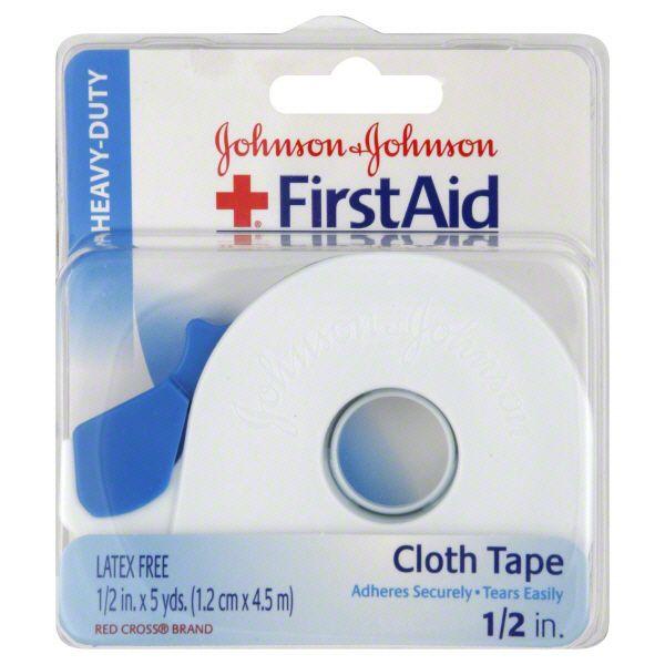 Johnson and Johnson Cloth Tape Heavy Duty JOHNSON and JOHNSON HEALTH BABY