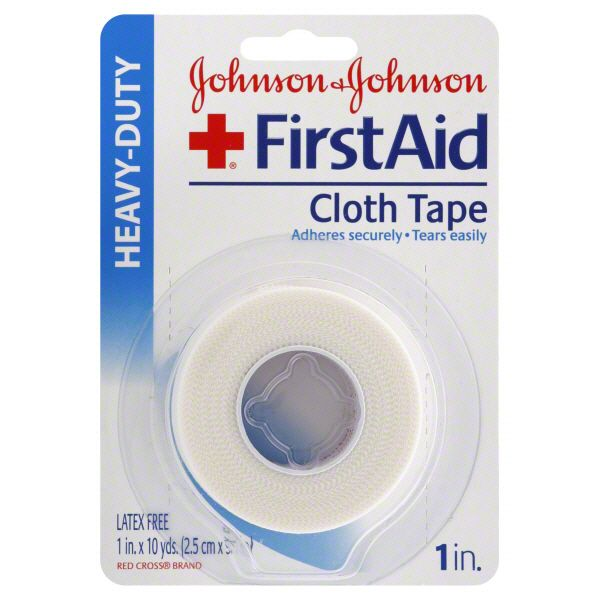 Johnson and Johnson First Aid Cloth Tape Heavy Duty 1 roll JOHNSON and JOHNSON HEALTH BABY