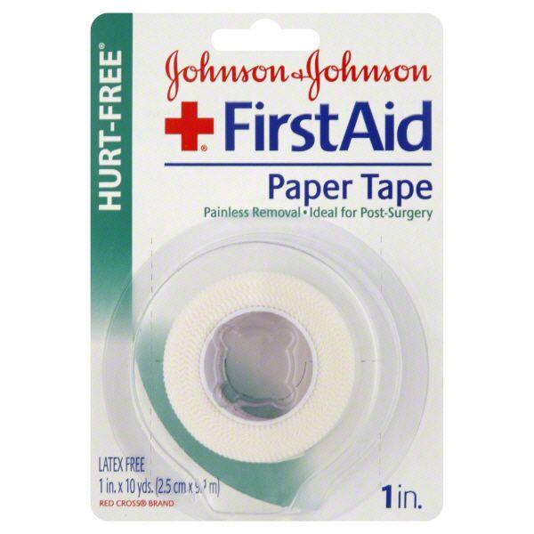 Johnson and Johnson Paper Tape Hurt Free JOHNSON and JOHNSON HEALTH BABY