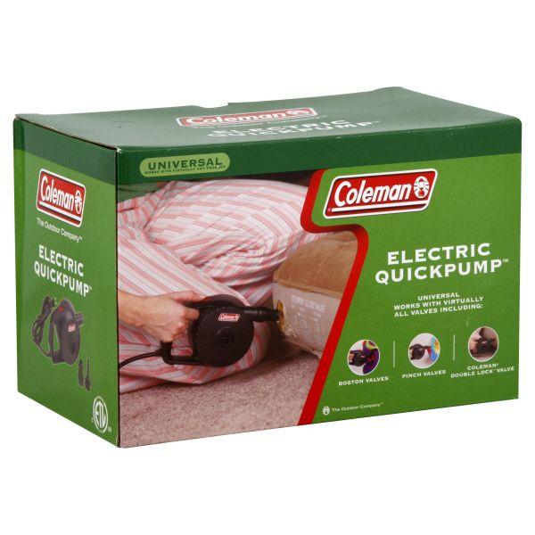 Coleman Comfortsmart   on Coleman Quickpump  Electric  1 Pump