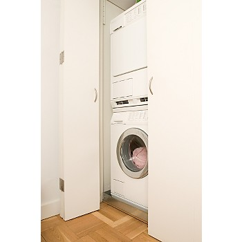 when you stack a dryer on top of a washer the dryeru0027s control panel might be difficult to reach if youu0027re a bit shorter make sure youu0027ll be comfortable