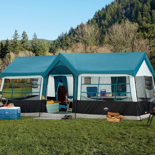Tent capacity