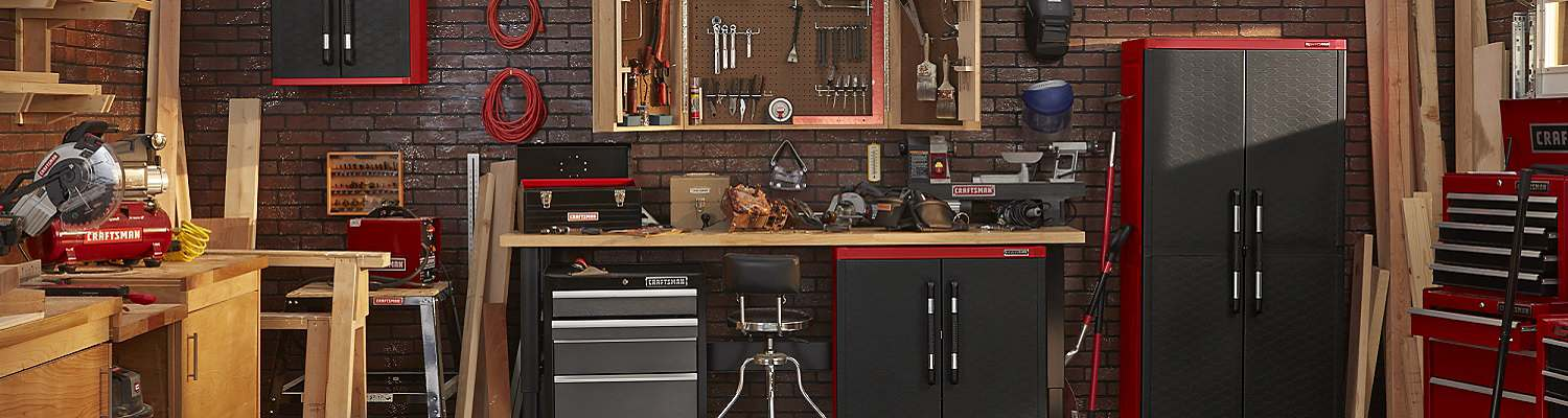 Find the perfect place to store your tools