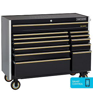 "Craftsman 52"" 12-drawer rolling cart"