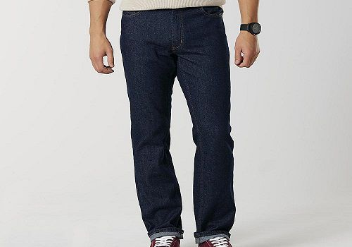 Roebuck & Co. Men's Straight Leg Jeans