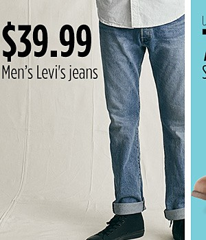 Levi's Jeans for men starting at $39.99