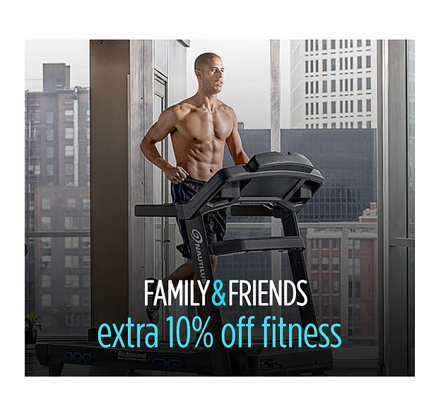 Extra 10% off fitness