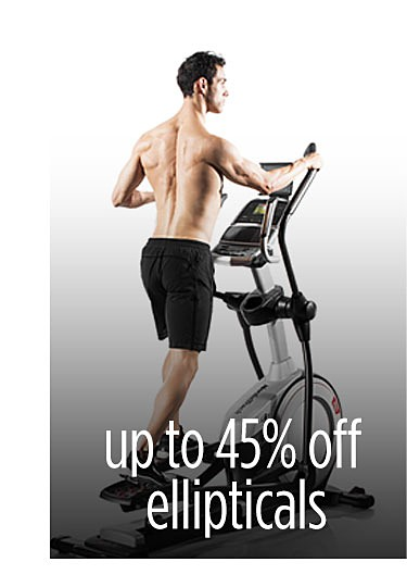 Up to 45% off featured ellipticals with FREE 1 Year iFit Coach Membership