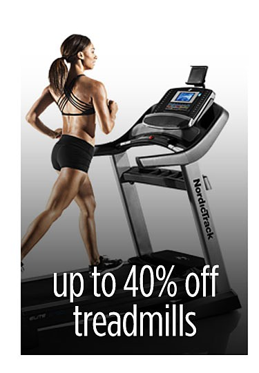 Up to 40% off featured treadmills with FREE iFit Coach one year membership