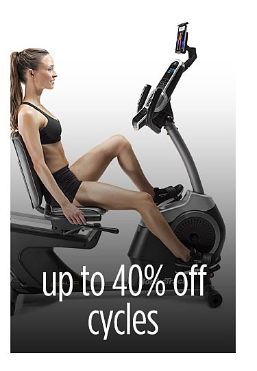 Up to 40% off exercise cycles with FREE iFit Coach one year membership