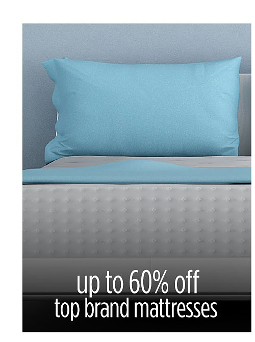 Up to 60% off mattresses