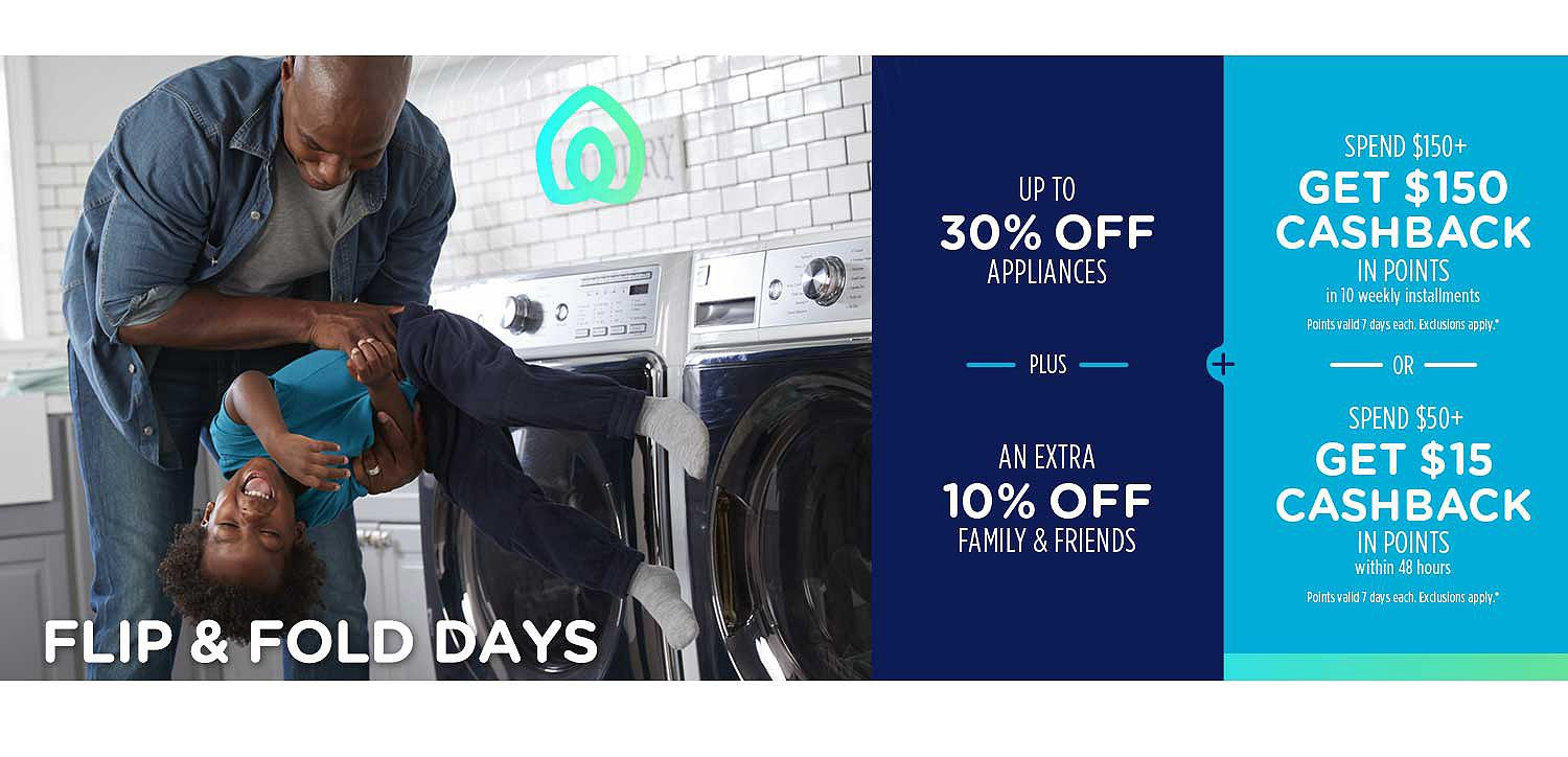 d0e2be4cd6b Up to 30% off appliances + ...