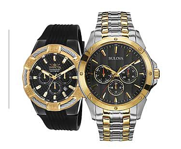 30% off top brand watches for him