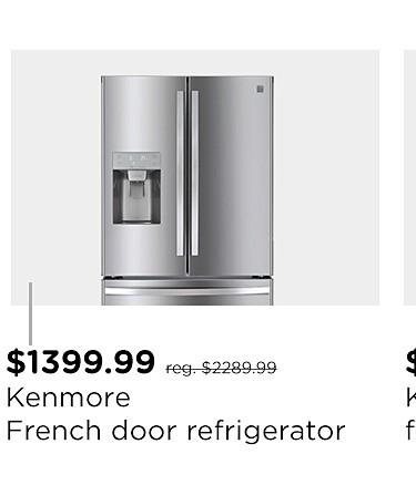 Kenmore 25.5 cu. ft. French Door Refrigerator