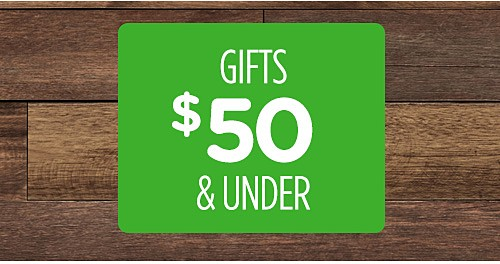 Gifts $50 & Under