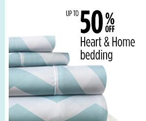 Hasta un 50% de descuento en ropa de cama Heart & Home
