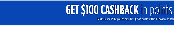 Get $100 CASHBACK in points on select Kenmore appliances