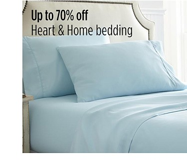 Up to 70% off Heart & Home bedding