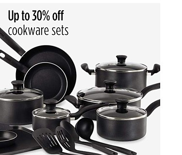 Up to 30% off cookware sets