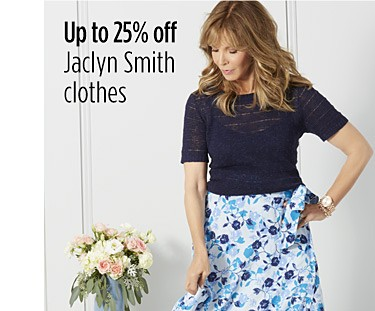 Up to 25% off Jaclyn Smith clothes