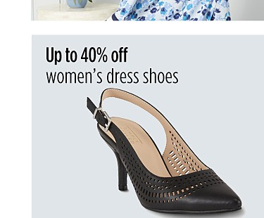 Up to 40% off women's dress shoes
