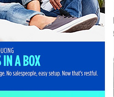Introducing mattress in a box