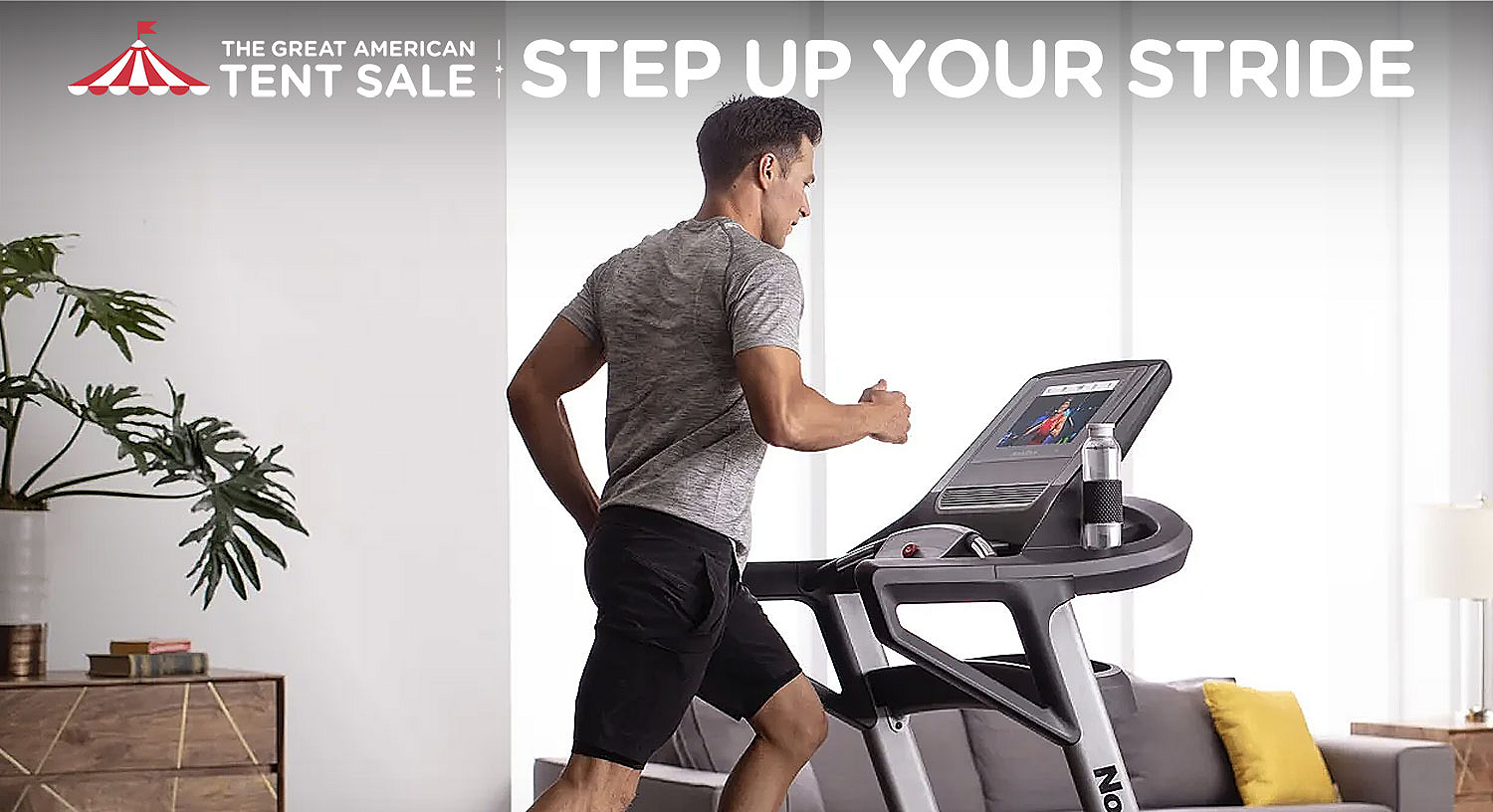 Step up your stride
