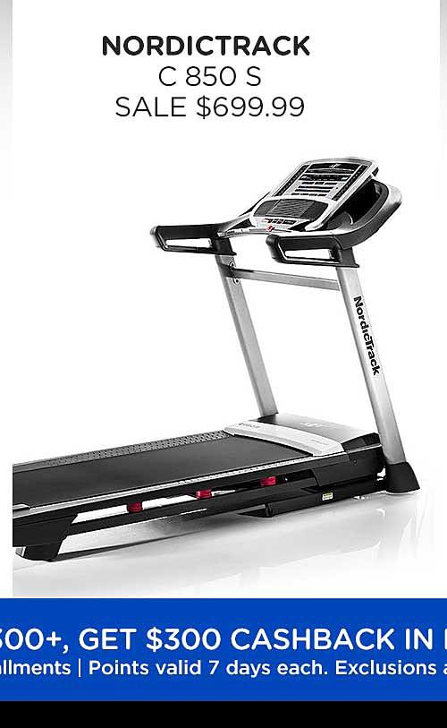 NordicTrack C 850 S treadmill