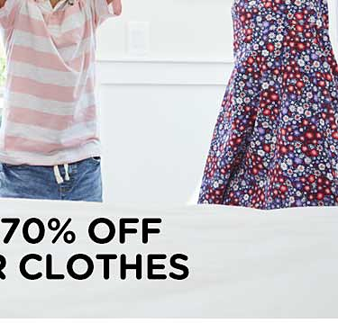 Up to 70% off summer fashion