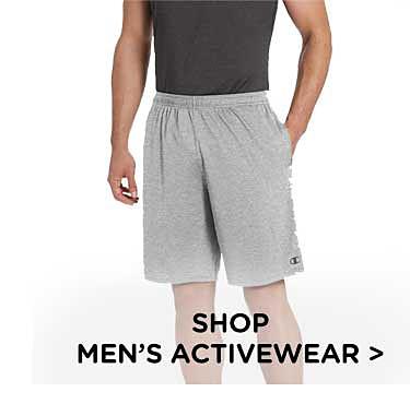 Shop men's activewear