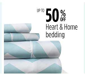 Up to 50% off Heart & Home Bedding