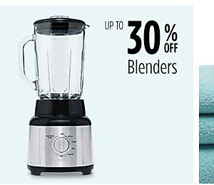 Up to 30% off Blenders