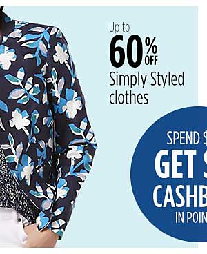 Up to 60% off Simply Styled clothes