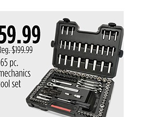 165 Mechanic's Tool Set