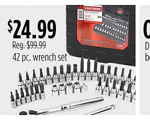 42 pc wrench set