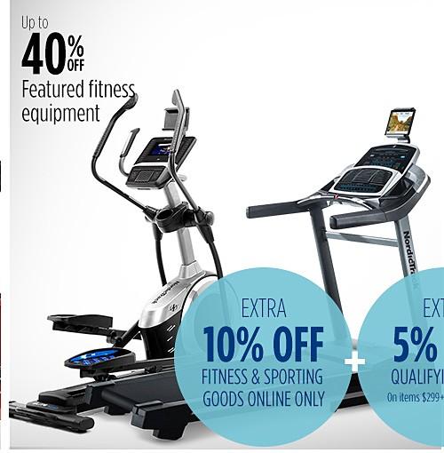 Hasta 40% menos en equipos para ejercicios destacados